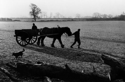 GREAT BRITAIN. 1950. Farmer returning from the fields by William Eugene Smith
