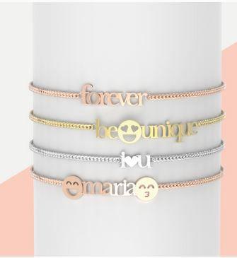 Estas bonitas pulseras de Singularu son un regalo perfecto para estas navidades. #regalos #Singularu #pulseras #moda #mujer #oro #rosa #plata