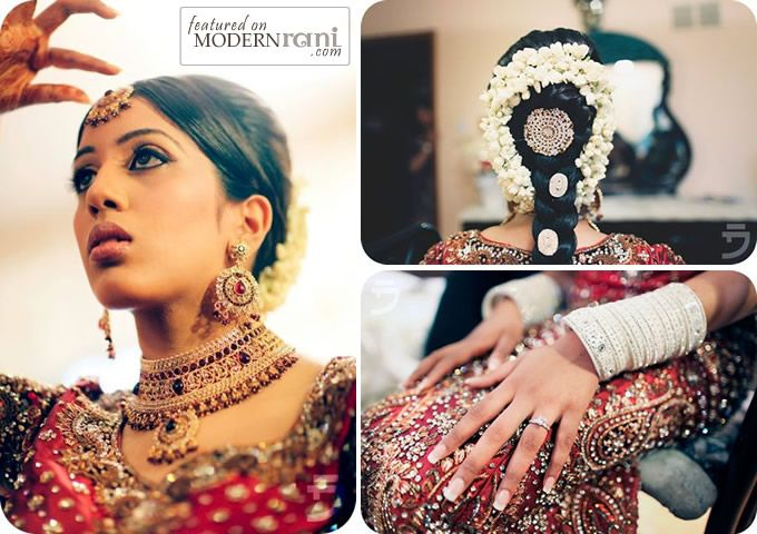 South Indian Bride hair style & jewelry