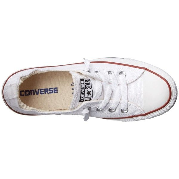 Converse Chuck Taylor All Star Shoreline Slip-On Ox Women's Slip on... found on Polyvore featuring shoes, sneakers, rubber shoes, converse footwear, slipon shoes, star shoes and star sneakers
