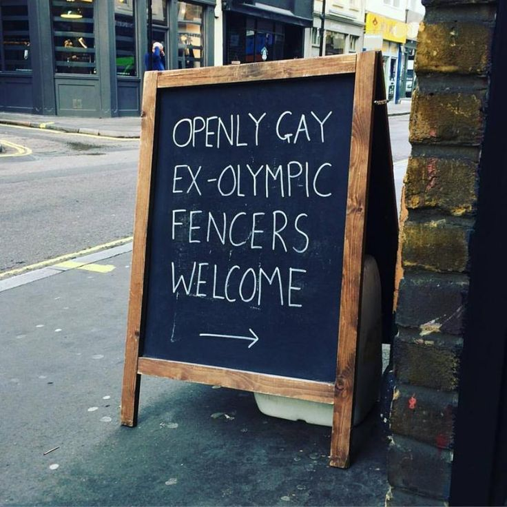 Openly Gay Ex-Olympic Fencers Welcome (source - Soho Bikes on Facebook).jpg