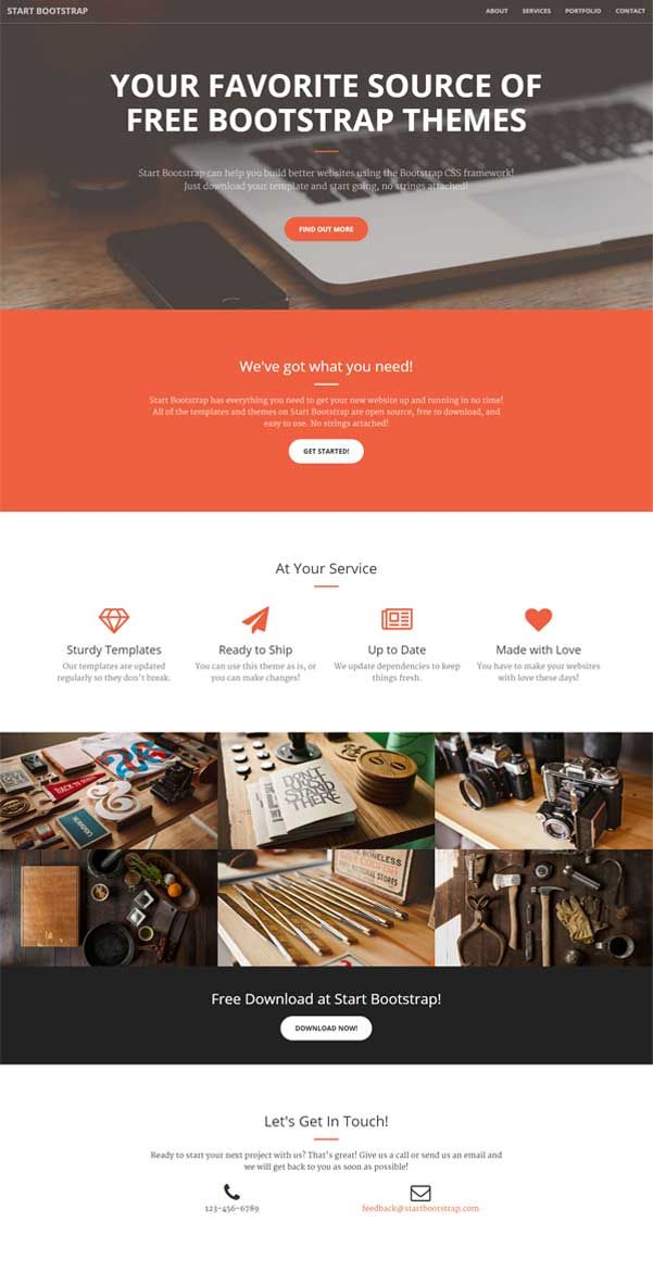 Website Templates Free 32 Best Bootstrap Website Templates Free Download Images On