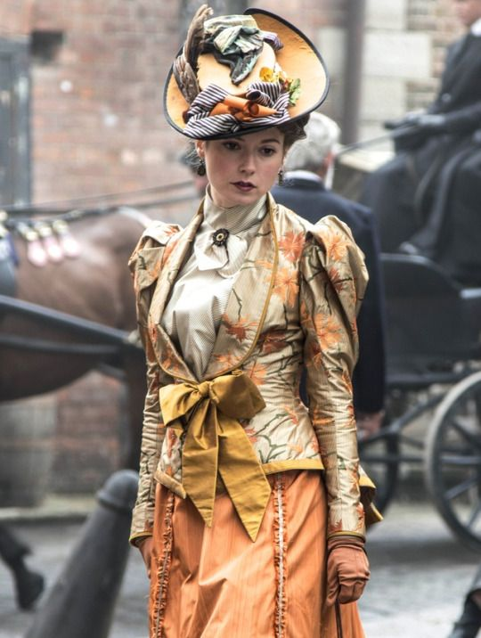 Lydia Wilson as Mimi Morton in Ripper Street (TV Series, 2014