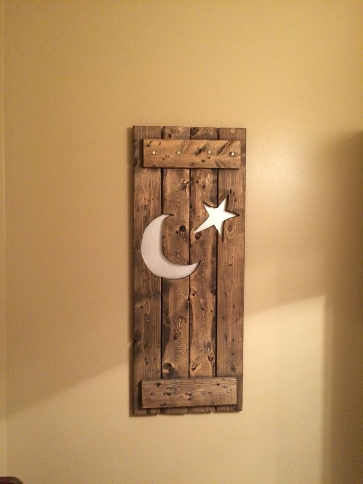 Outhouse wall art
