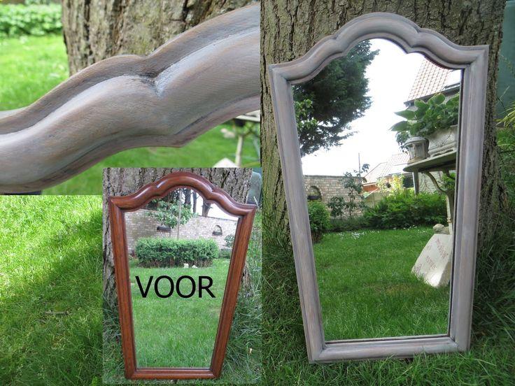 Gerenoveerde spiegel