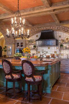 . [ MexicanConnexionForTile.com ] #Hacienda #kitchen #Talavera #handmade