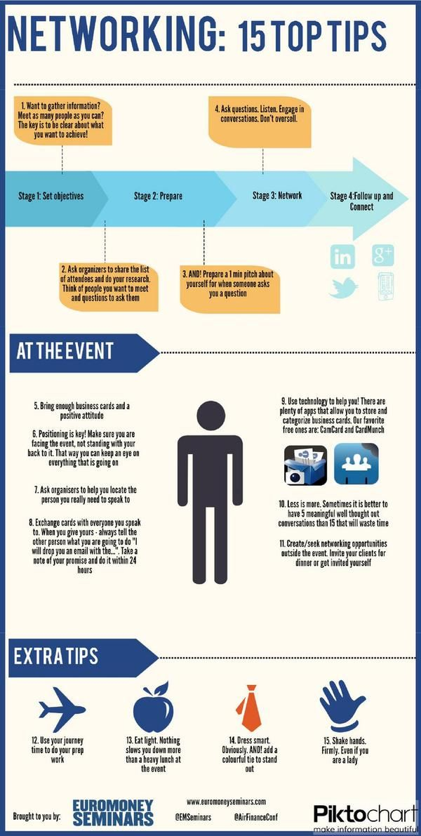 Networking tips!