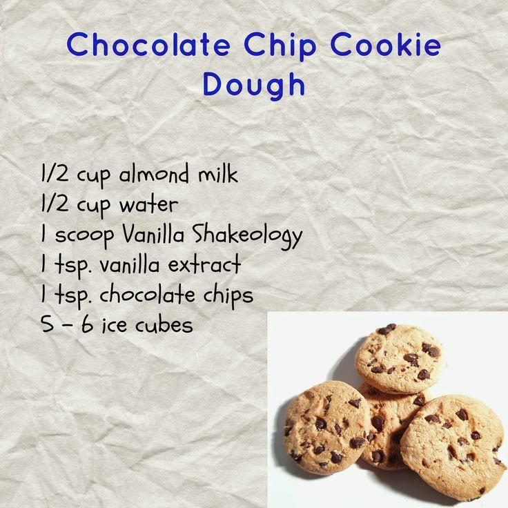 Chocolate Chip Cookie Dough Shakeology