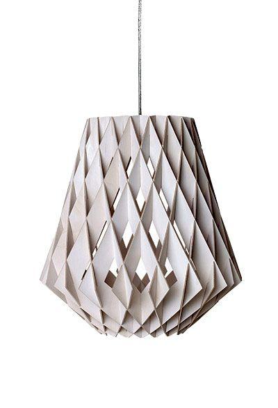 60,s cardboard light