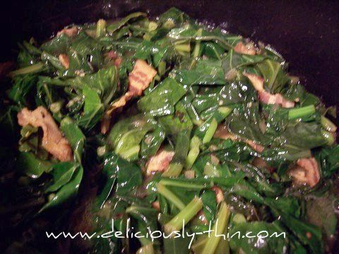 how to cook turnip leaves