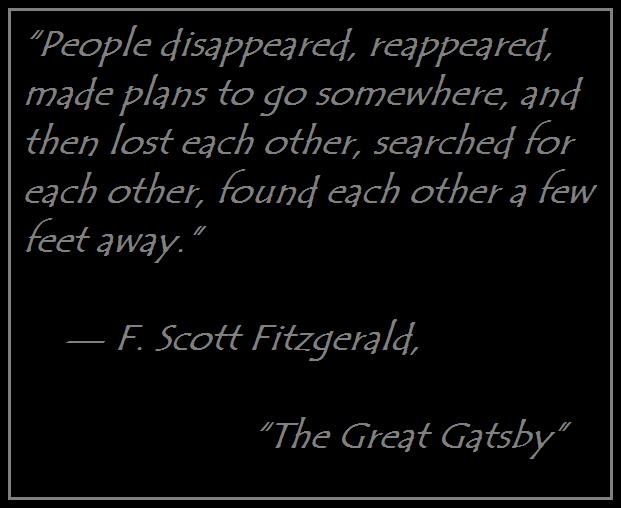 diction in the great gatsby by f scott fitzgerald The relevance of diction in the great gatsby  f scott fitzgerald's the great gatsby places heavy emphasis on manipulation of language in order to establish the.