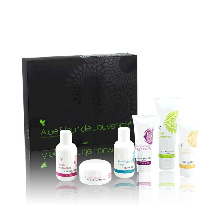 Aloe Fleur de Jouvence® is one of the most effective restorative beauty collections ever assembled. A collection of six wonderful components – each designed to fill a special part in a complete regimen of facial skin care