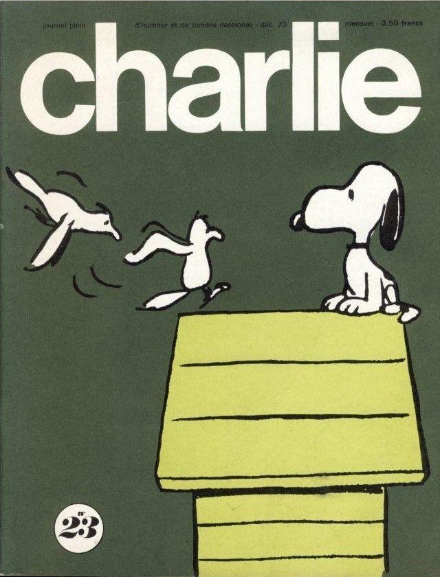 Charlie Mensuel - # 23 - Décembre 1970 - Couverture de Schulz