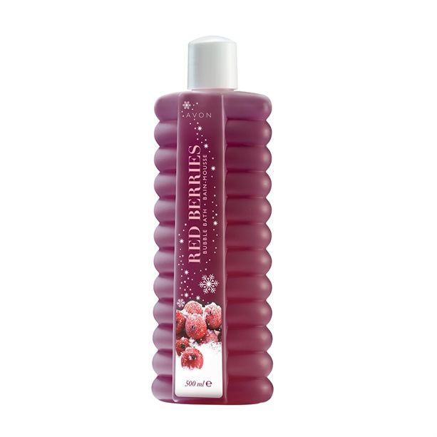 Habfürdő piros bogyós gyümölcsök illatával