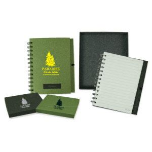 Stone Paper Note Book In Gift Box