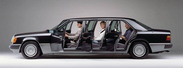 """crazyforcars: """" Mercedes V124 (long wheelbase, 6-door ..."""