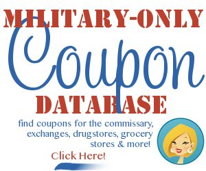 Going to use this website from now on when we go grocery shopping at the commisary. Hope to save some money :)