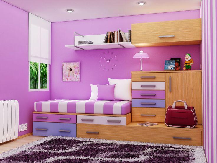 Küçük kız odası