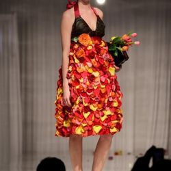 Jaw-Dropping Flower Dresses from Fleurotica Raised More Than $80,000 for Garfield Park Conservatory - Racked Chicago