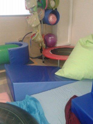 NEW OCCUPATIONAL THERAPY ROOM