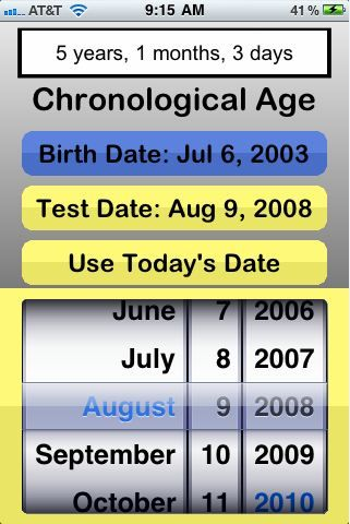 Chronological Age Calculator - Find It In 1 Easy Step, Free