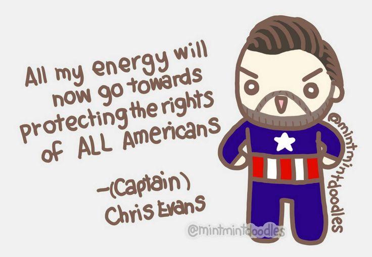 Captain Chris Evans ✨#chrisevans #mintmintdoodles #tweet