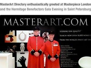 Un genuino entusiasmo è scaturito dalla prima edizione di MasterArt, distribuito in anteprima da Masterpiece London private il 26 giugno. Il design artistico 2012 Directory, presenta una panoramica di 130 high-end gallerie elencate per città e categoria comprende i dettagli di ogni galleria,