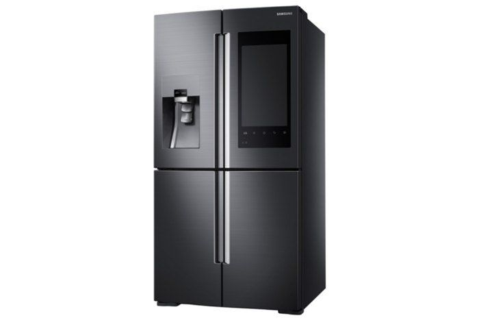 Samsung Smart Fridge Has A 21 Inch Screen And You Can See Its