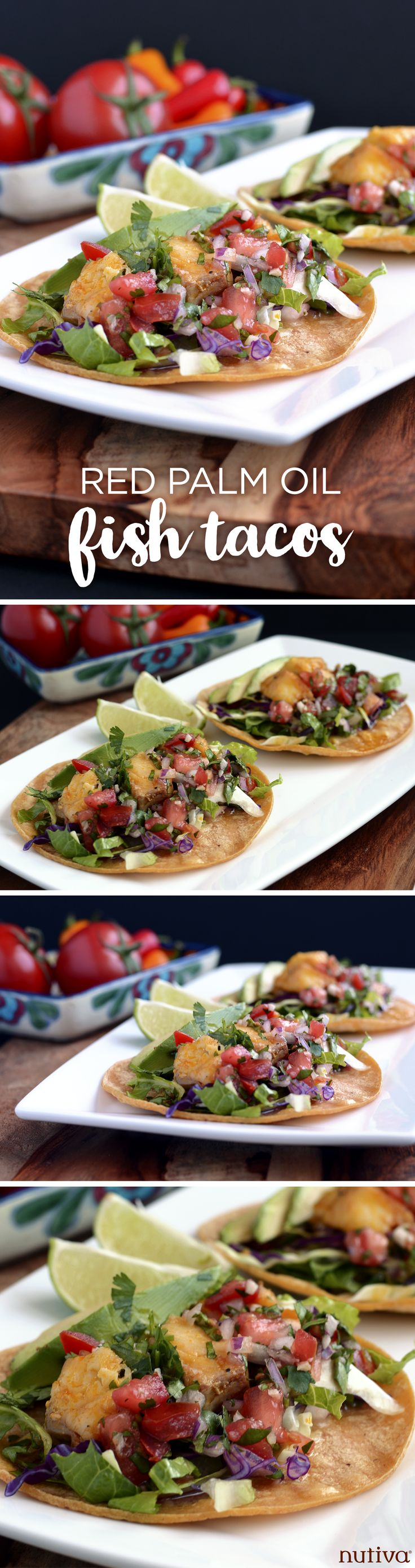 Red Palm Oil Fish Tacos kitchen.nutiva.com