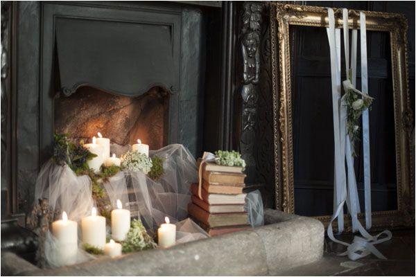 A Winter's Tale - a warm winter wedding ideas shoot from Hampden House in Buckinghamshire
