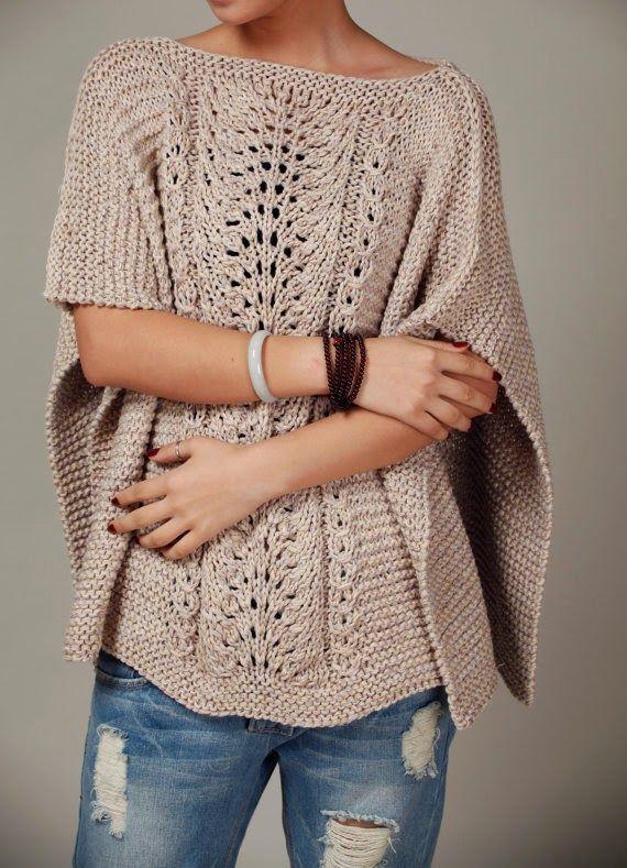 Eu que Fiz - Vovó Baisa: Kaftan em tricô