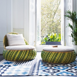 dedon outdoor furniture. Dedon Outdoor Furniture. Dala Lounge Chair, By Stephen Bruks - Conservatory Garden Furniture