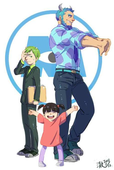 monsters Inc. anime