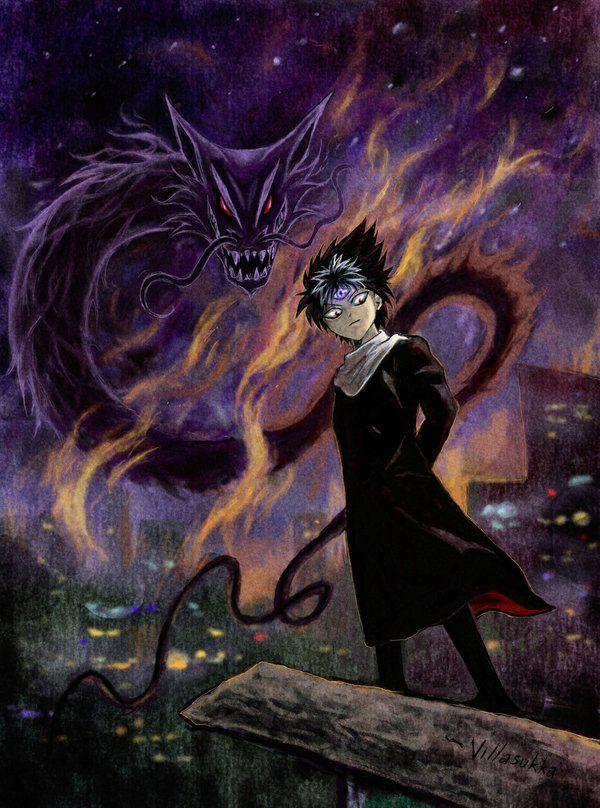Jaganshi Hiei by villasukka.deviantart.com on @DeviantArt