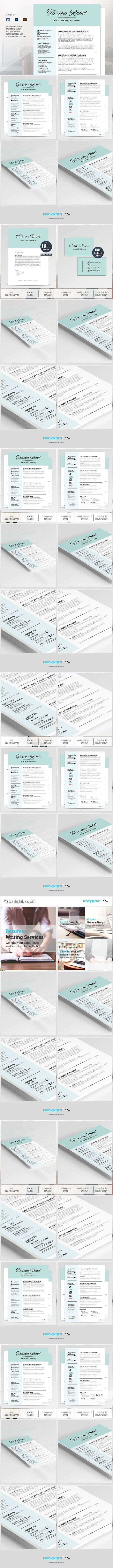 30 best resume templates images on pinterest