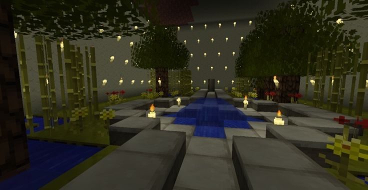 Minecraft Zen Garden indoor garden | minecraft ideas | pinterest | minecraft ideas