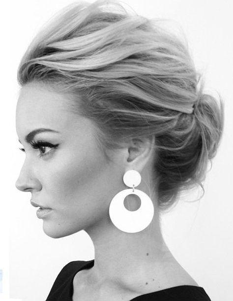 Dağınık Topuz Saç Modelleri | Kokteylde.com