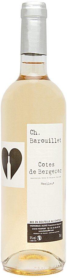 Côtes de Bergerac Moelleux 2013 - Gamme des vins - Chateau Barouillet