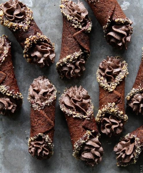 Decadent Chocolate Cannoli Recipe