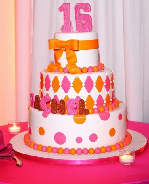 Pictures Of Round Birthday Cakes