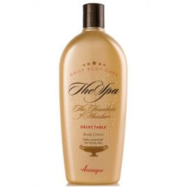 Delectable Body Lotion – 400ml  A light, non greasy body lotion that absorbs quickly. The Delectable Body Lotion will leave your skin feeling soft and smooth. http://www.anniquedayspa.co.za/eb_product/delectable-body-lotion-400ml/
