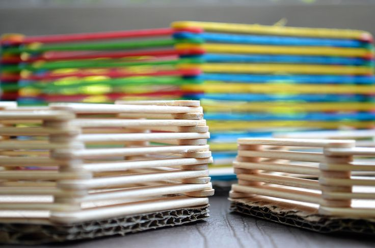 ikat bag: 3D Popsicle Stick Crafts I - Baskets3D Popsicles, Daughters Today Major, Education Ideas, Sticks Art, Crafts Class, Popsicle Stick Crafts, Gonna Copy, Popsicle Sticks, Popsicles Sticks Crafts