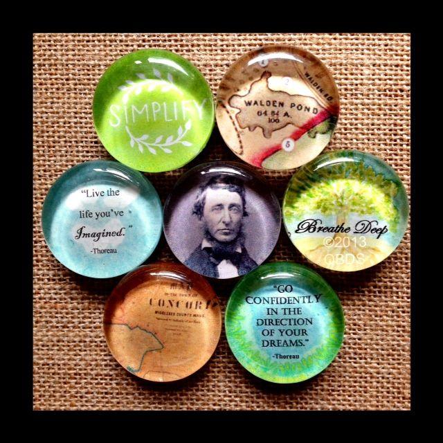 ~Henry David Thoreau Collection~  Queen Bee Design Studios Visit us on Facebook!
