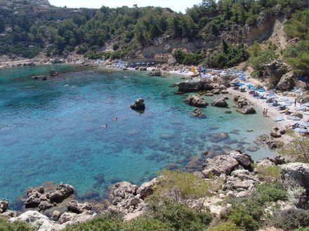 Anthony Quinn Bay - Rhodes Greece