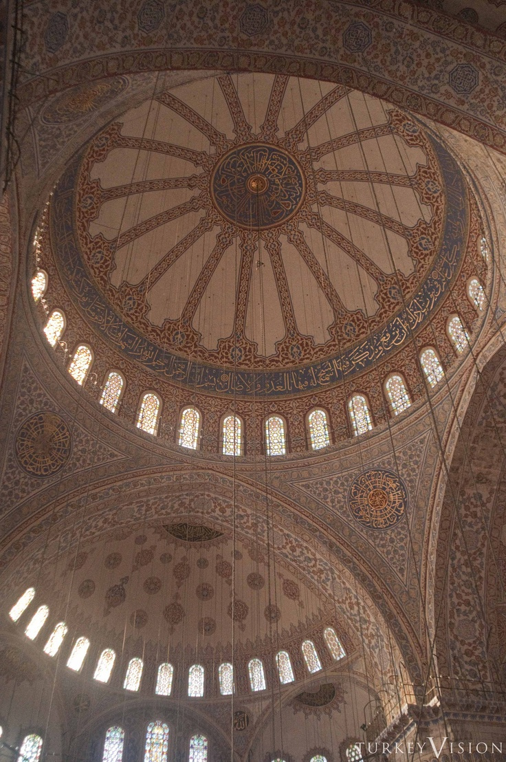 Dome of the Blue Mosque #bluemosque