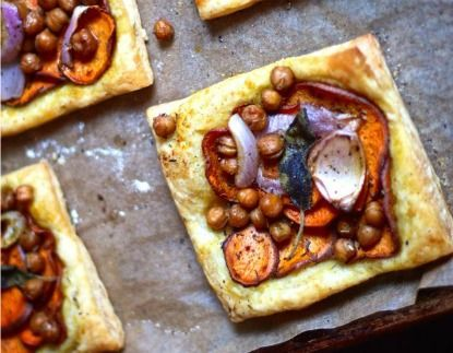 #MeatlessMonday - Sweet Potato & Sage Tarts: Sign up for weekly recipes: https://secure.humanesociety.org/site/SPageServer?pagename=meatlessmondaysignup