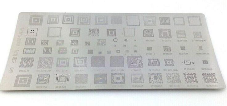 Мобильные телефоны BGA мяч трафарет для Samsung A90 телефон трафарет MTK непосредственно отопление bga-трафарет инструмент трафареты