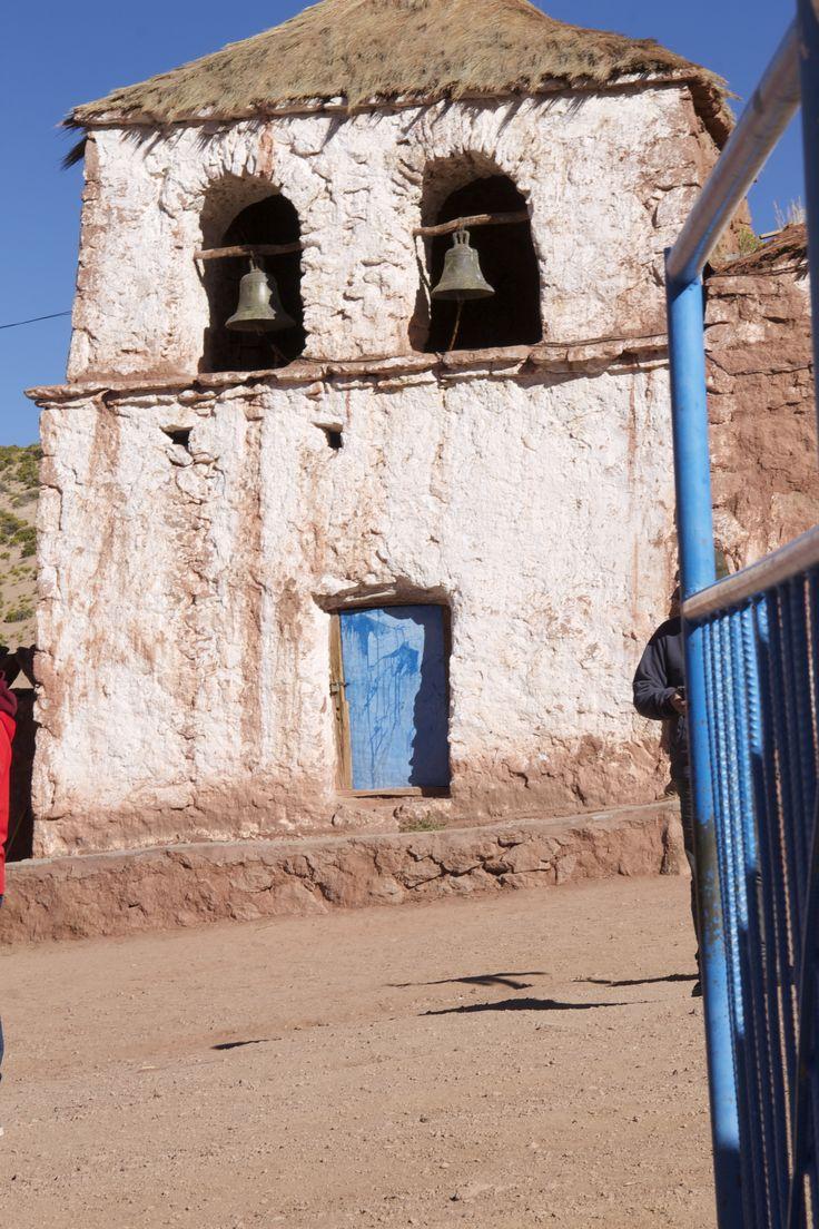capilla del pueblo de Machuca, Chile