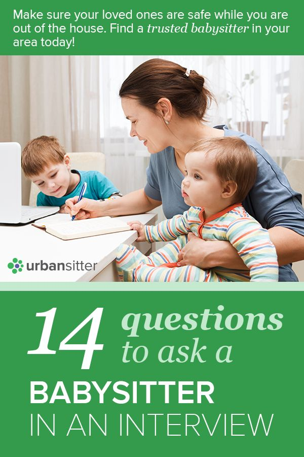 Hiring a new babysitter or nanny? Check out our list of interview questions�to help you�find the babysitter or nanny of your�dreams!