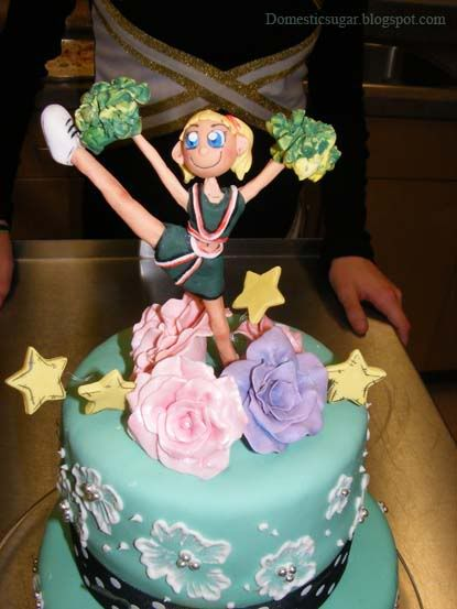 Images Of Cheerleader Cakes